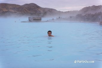 At the Blue Lagoon, Iceland