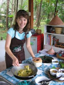 in Thailand, cooking course